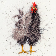 "Набор для вышивания крестом Bothy Threads ""Curious Hen"" (Любопытная курица)"