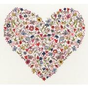"""Набор для вышивания крестом Bothy Threads """"Love Heart"""" (Любимое сердце)"""
