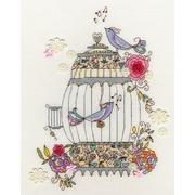 """Набор для вышивания крестом Bothy Threads """"Love Birds"""" (Любимые птицы)"""