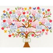 """Набор для вышивания крестом Bothy Threads """"My Family Tree"""" (Семейное дерево)"""