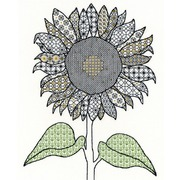 """Набор для вышивания крестом Bothy Threads """"Sunflower"""" (Подсолнух)"""