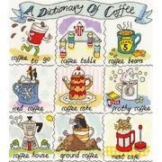 """Набор для вышивания крестом Bothy Threads """"Coffee"""" (Кофе)"""