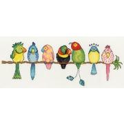 """Набор для вышивания крестом Bothy Threads """"Exotic Birds"""" (Экзотические птицы)"""