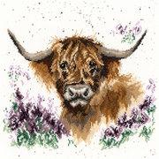 """Набор для вышивания крестом Bothy Threads """"Highland Heathers"""" (Буйвол и вереск)"""