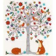"""Набор для вышивания крестом Bothy Threads """"Love Winter"""" (Любимая зима)"""