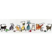 """Набор для вышивания крестом Bothy Threads """"Cats"""" (Коты)"""