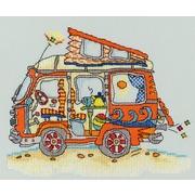 """Набор для вышивания крестом Bothy Threads """"VW Van"""" (Автобус Фольксваген)"""