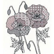 """Набор для вышивания крестом Bothy Threads """"Poppy"""" (Мак)"""