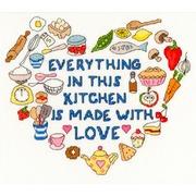 "Набор для вышивания крестом Bothy Threads ""Heart of the Kitchen"" (Сердце кухни)"