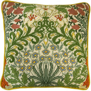 """Набор для вышивания крестом Bothy Threads подушка """"Garden"""" William Morris (Сад)"""