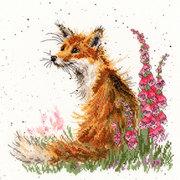 """Набор для вышивания крестом Bothy Threads """"Amongst the Foxgloves"""" (Лиса и наперстянка)"""
