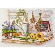 """Набор для вышивания крестом Марья искусница """"Для сада"""""""