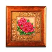 """Набор для вышивания бисером Радуга бисера (Кроше) """"Роскошные розы"""""""