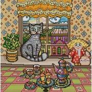 """Ткань с рисунком для вышивки бисером Конёк """"Хранитель дома"""""""