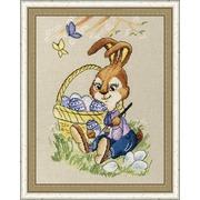 """Набор для вышивания крестом Золотое Руно """"Пасхальный кролик"""""""