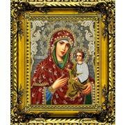 """Набор для вышивания бисером Вышиваем бисером """"Тихвинская икона Божией Матери"""" (трунцал)"""