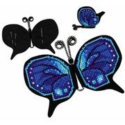 Набор для вышивания крестом Риолис Магнит/игольница «Бабочка