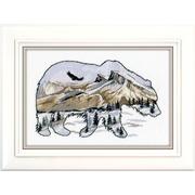 """Набор для вышивания крестом Овен """"Мир животных. Медведь"""""""