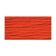 Мулине Gamma цвет №0011 оранжево-красный (х/б, 8 м)