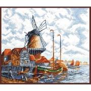 """Набор для вышивания крестом Палитра """"Голландский пейзаж"""""""