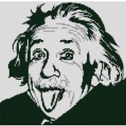 """Канва/ткань с нанесенным рисунком Конёк """"Альберт Эйнштейн"""""""