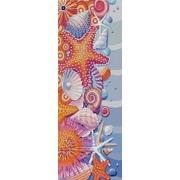 """Ткань с рисунком для вышивки бисером Конёк """"Дары моря"""""""