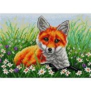 """Набор для выкладывания мозаики Вышиваем бисером """"Рыжая лисичка"""""""