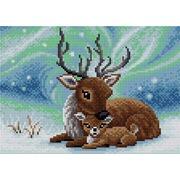 """Набор для выкладывания мозаики Вышиваем бисером """"Северный олень"""""""