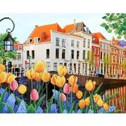 """Канва/ткань с нанесенным рисунком М.П. Студия """"Солнечная Голландия"""""""