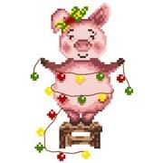 """Канва с нанесенным рисунком Матрёнин посад """"Свинка"""""""