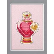 """Набор для вышивания крестом Овен """"Магнит. Любовное зелье"""""""
