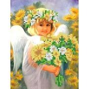 """Набор для вышивания бисером Каролинка """"Солнечный ангел"""""""
