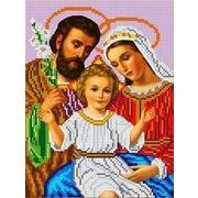 """Набор для вышивания бисером Каролинка """"Святое семейство"""""""