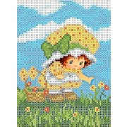 """Набор для вышивания бисером Каролинка """"Первые цветы"""""""
