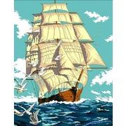 """Канва/ткань с нанесенным рисунком Каролинка """"Попутный ветер"""""""