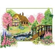 """Канва/ткань с нанесенным рисунком Каролинка """"Весеннее цветение"""""""