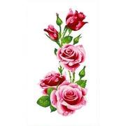 """Канва с нанесенным рисунком Каролинка """"Розы"""""""