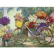 """Набор для вышивания лентами Каролинка """"Цветы для любимой"""""""