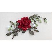 """Набор для вышивания лентами Любава """"Бордовая роза"""""""