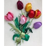 "Набор для вышивания лентами Любава ""Тюльпаны"""