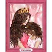 """Набор для выкладывания мозаики Алмазная живопись """"Моя принцесса"""""""