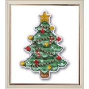 """Набор для вышивания крестом Овен """"Новогодняя елочка"""""""