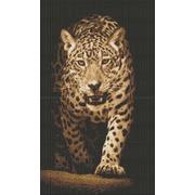 """Набор для вышивания крестом Каролинка """"Хищники. Леопард"""""""