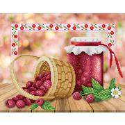 """Канва/ткань с нанесенным рисунком М.П. Студия """"Варенье на зиму"""""""