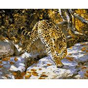 """Набор для выкладывания мозаики Паутинка """"Леопарды"""""""