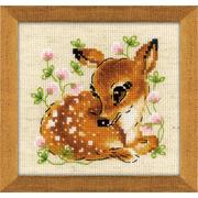 """Набор для вышивания крестом Риолис """"Маленький олень"""""""
