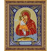 """Набор для вышивания бисером Паутинка """"Пресвятая Богородица Почаевская"""""""