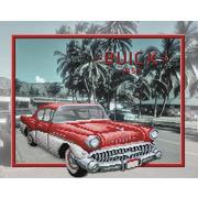 """Ткань с рисунком для вышивки бисером М.П. Студия """"Buick"""""""