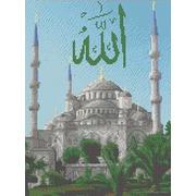 """Канва с нанесенным рисунком Каролинка """"Голубая мечеть"""""""