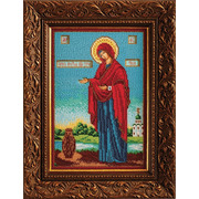 """Набор для вышивания бисером Радуга бисера (Кроше) """"Богородица Геронтисса"""""""